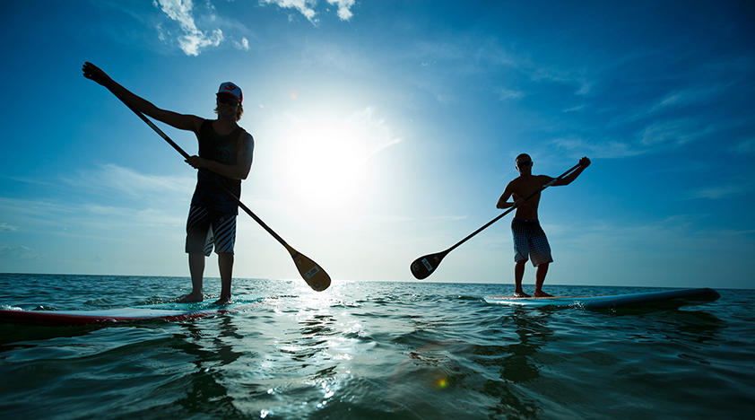 Mobile paddle board rentals, lessons and tours